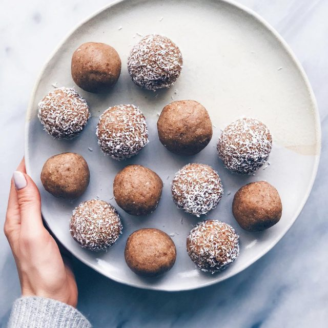 WALNUTCARDAMOM BLISS BALLS! Recipe is now up on the blog!hellip