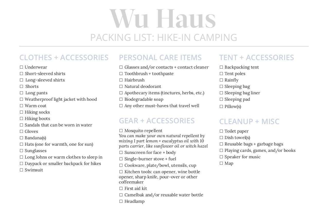 wu-haus-alison-hike-in-camping-packing-list